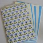 A5 Handmade Notebook Blue a..
